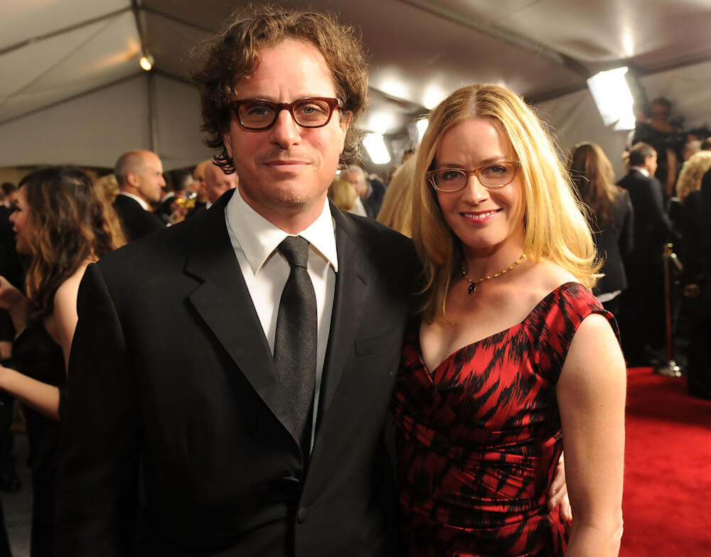 Elisabeth with husband David Guggenheim