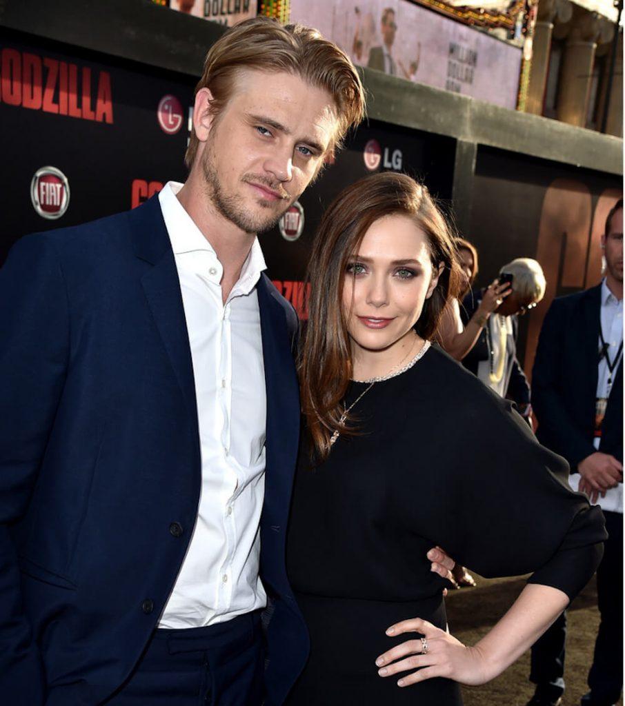 Elizabeth Olsen and ex boyfriend Boyd Holbrook