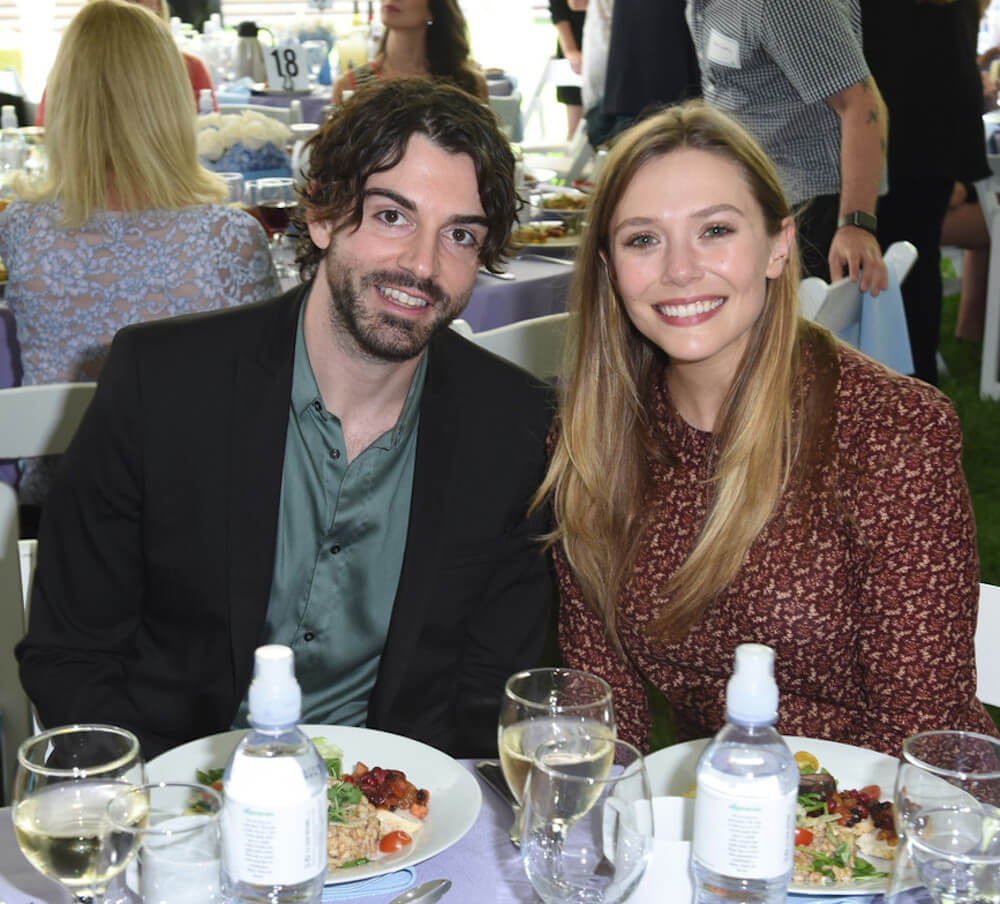 Elizabeth Olsen and current boyfriend Robbie Arnett