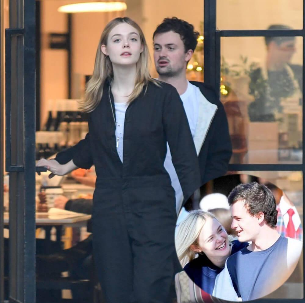 Elle Fanning and ex Dylan Beck