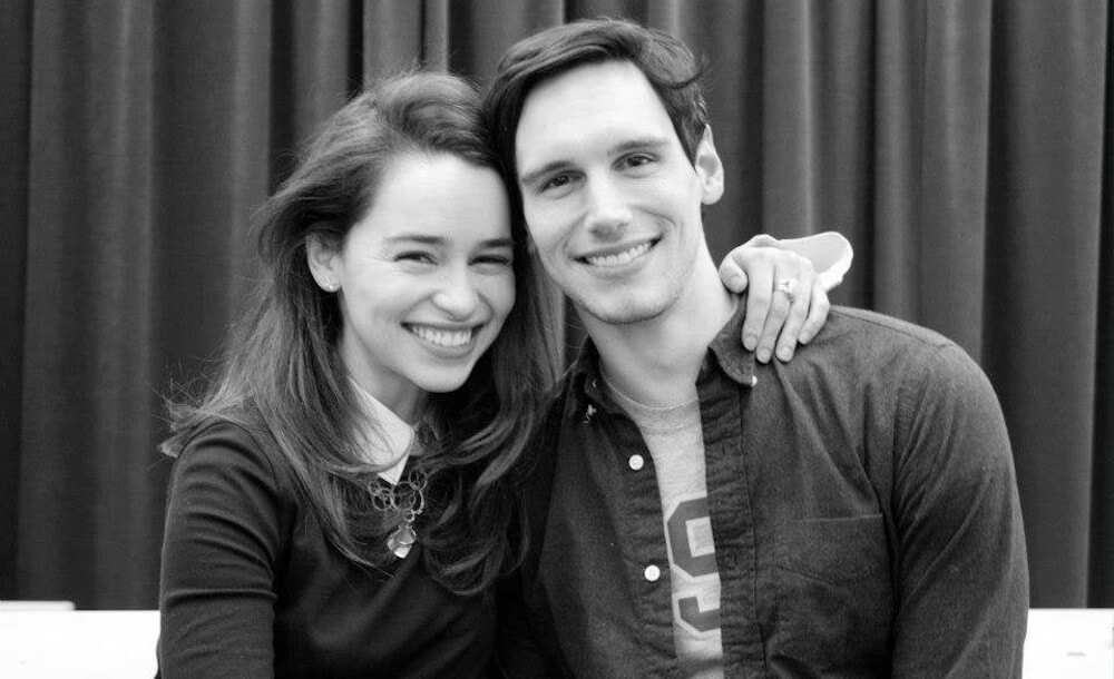 Emilia Clarke and Cory ex Michael Smith