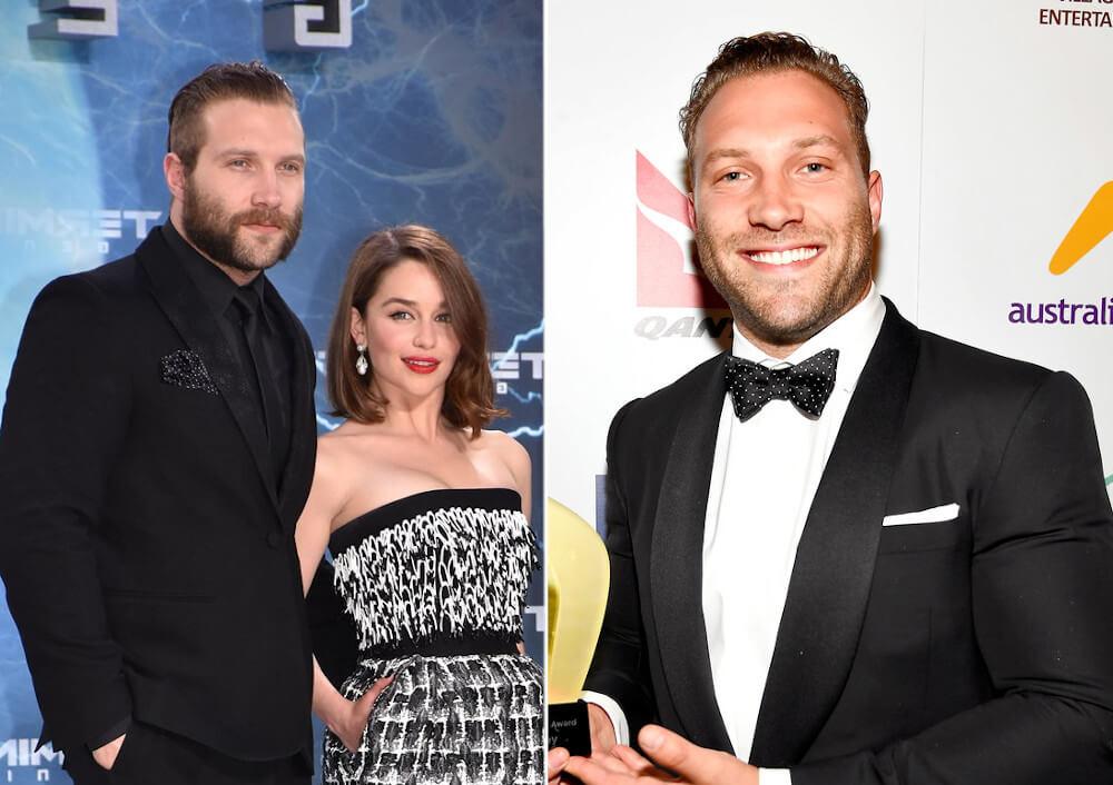 Emilia Clarke and ex boyfriend Jai Courtney