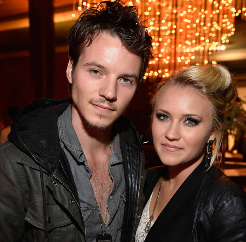 Emily Osment with Nathan Keyes