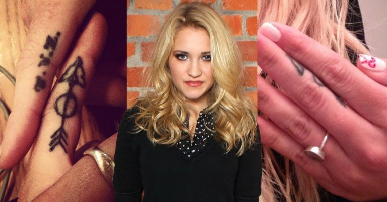 Emily Osment tattoos and meanings