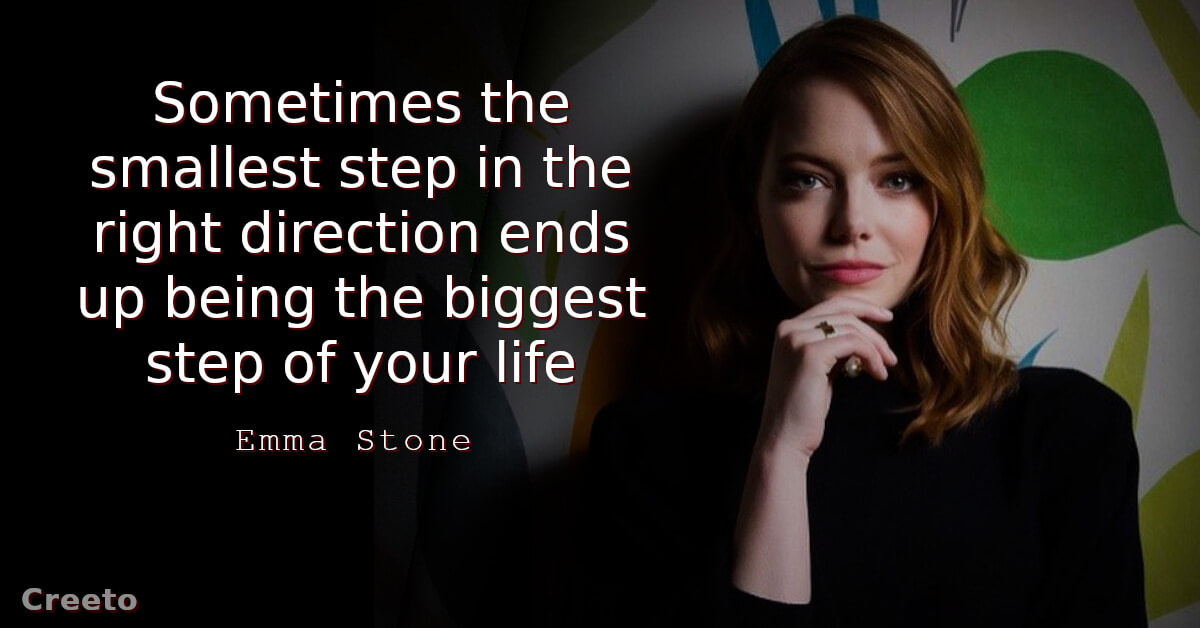 Emma Stone Quotes about future