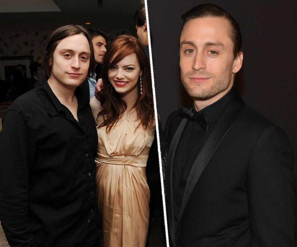 Emma Stone and ex boyfriend Kieran Culkin