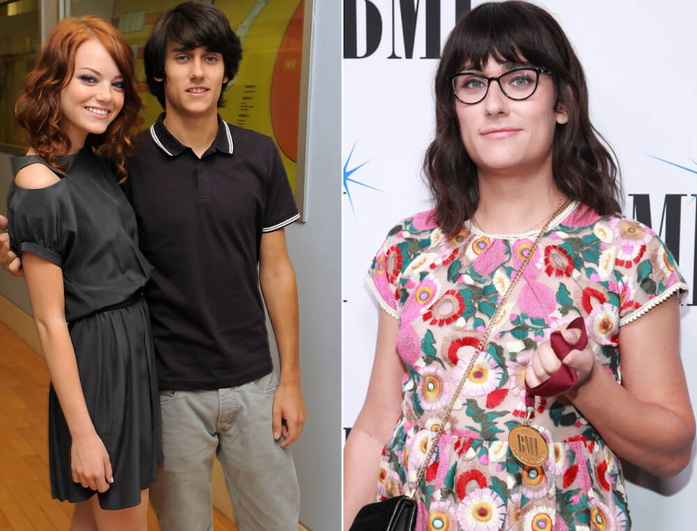 Emma Stone and ex Teddy Geiger