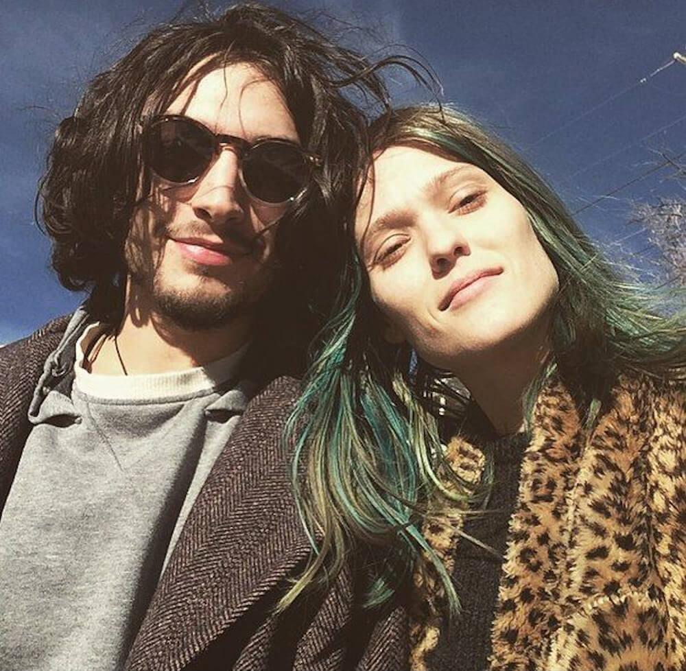 Ezra Miller and girlfriend Erin Urb