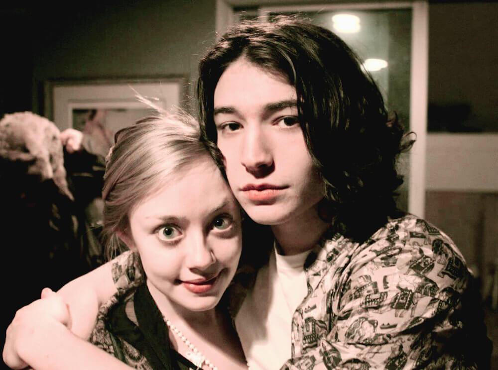 Ezra Miller and ex Lauren Nolting