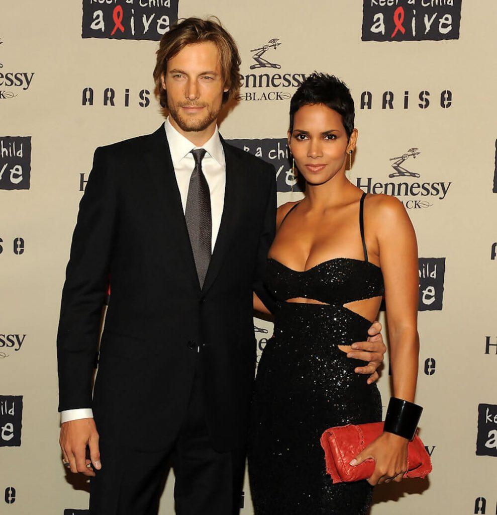 Gabriel Aubry and girlfriend Halle Berry