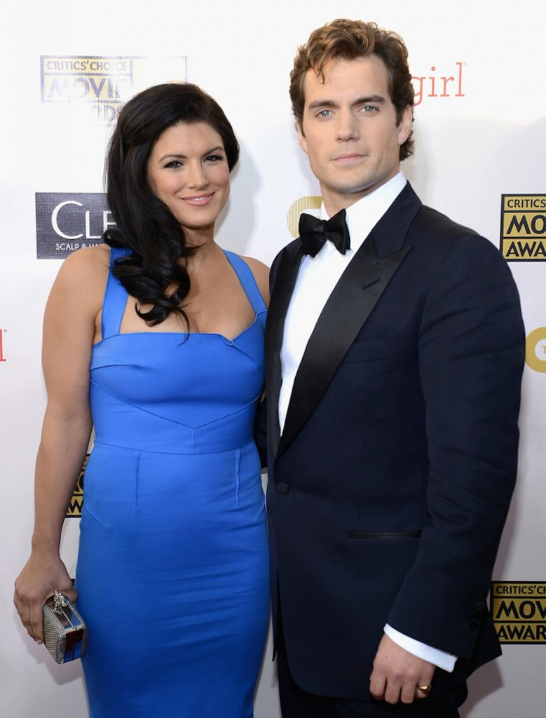 Gina Carano and ex boyfriend Henry Cavill