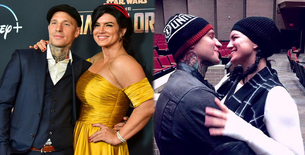 Gina Carano and boyfriend Kevin Ross