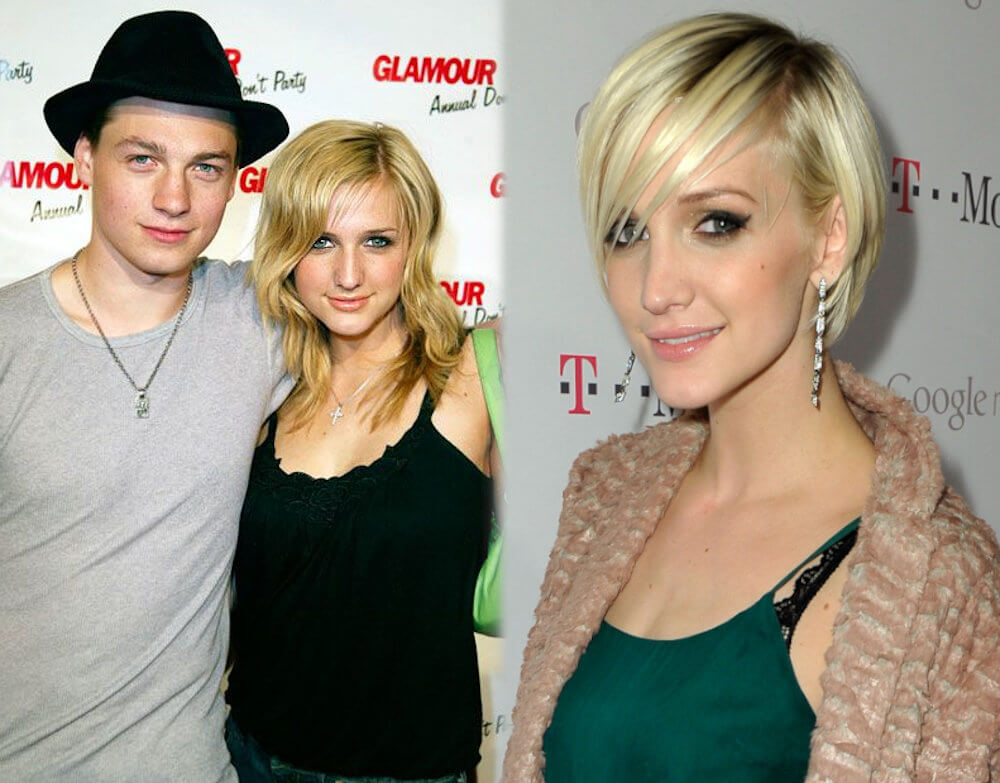 Gregory Smith and ex girlfriend Ashlee Simpson