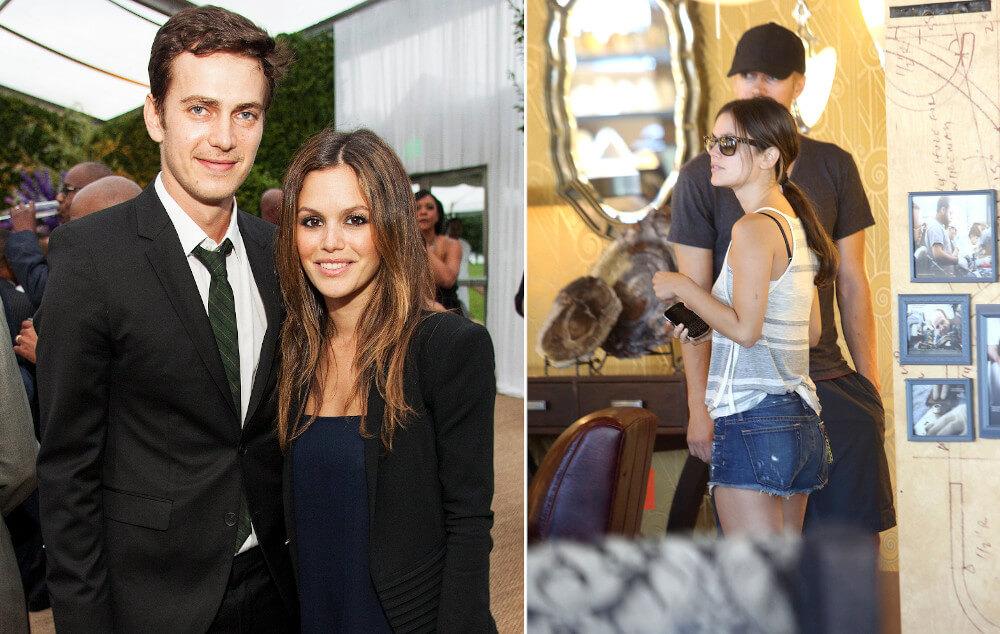 Hayden Christensen and girlfriend Rасhеl Віlѕоn