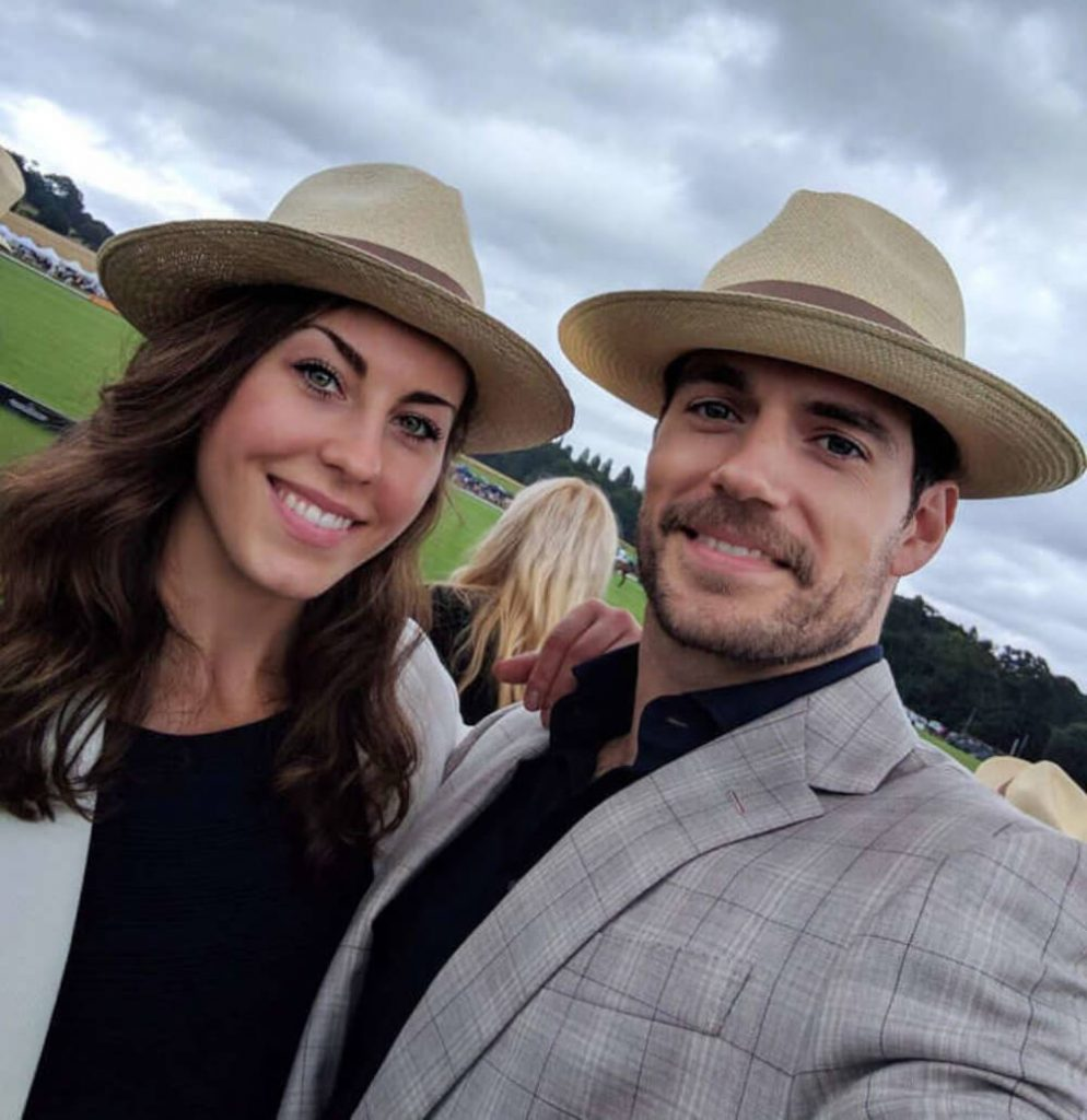 Henry Cavill and ex Lucy Cork