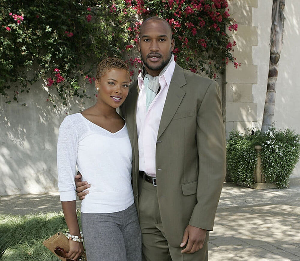 Henry Simmons and ex girlfriend Eva Marcille