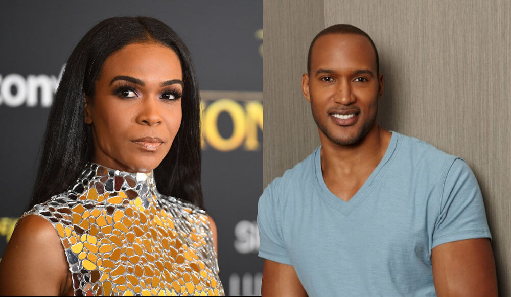 Henry Simmons and Michelle Williams Singer