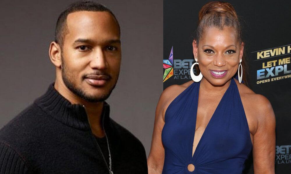 Henry Simmons and ex girlfriend Rolonda Watts