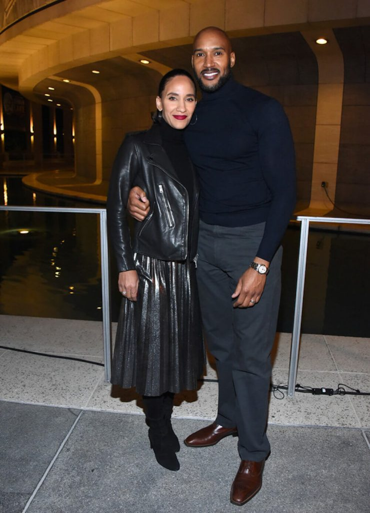 Henry Simmons and wife Sophina Brown