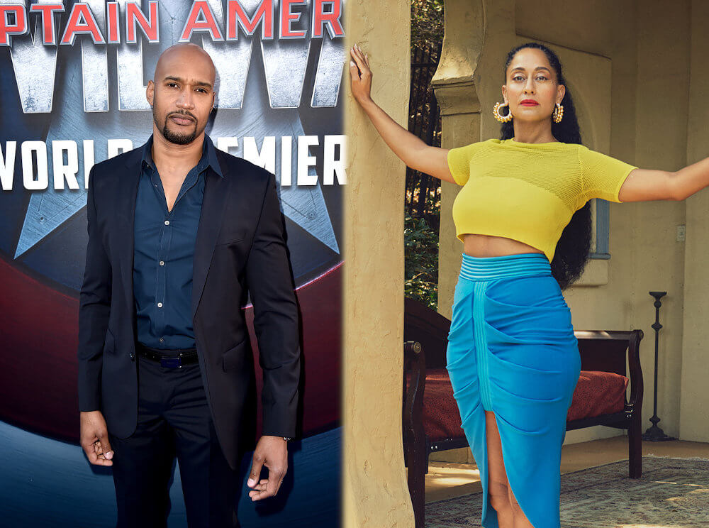 Henry Simmons with Tracee Ellis Ross