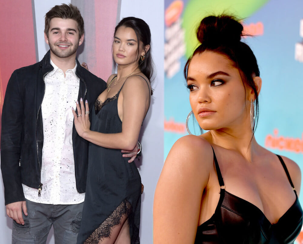 Jack Griffo and ex Paris Berelc
