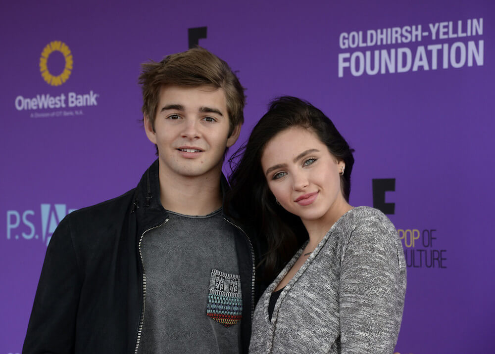 Jack Griffo with ex girlfriend Ryan Newman