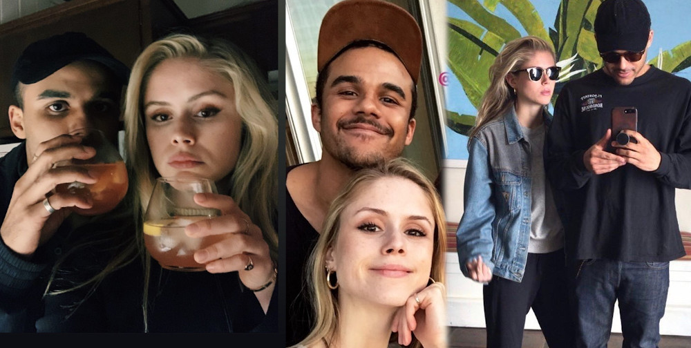 Erin Moriarty and boyfriend Jacob Artist