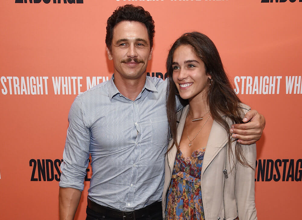 James Franco with girlfriend Isabel Pakzad