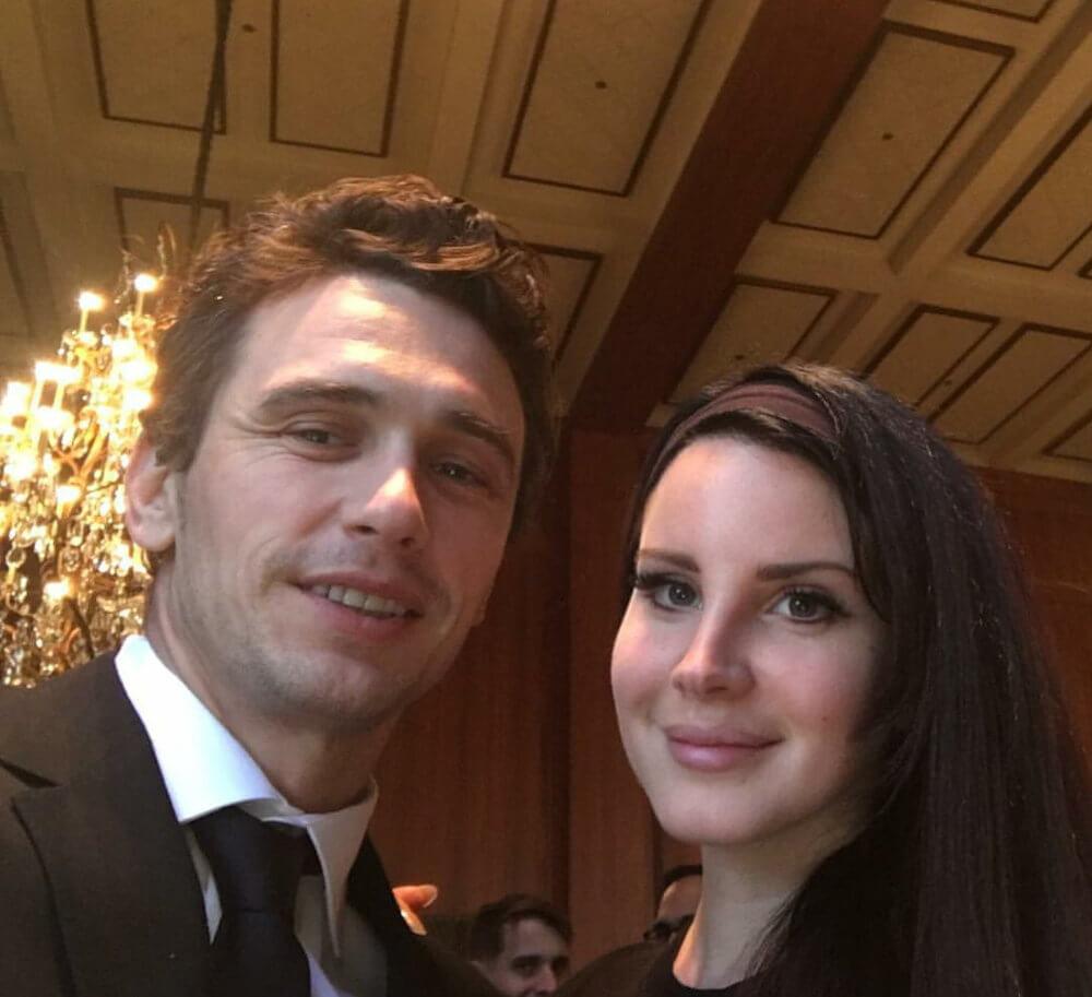 James Franco and ex Lana Del Rey
