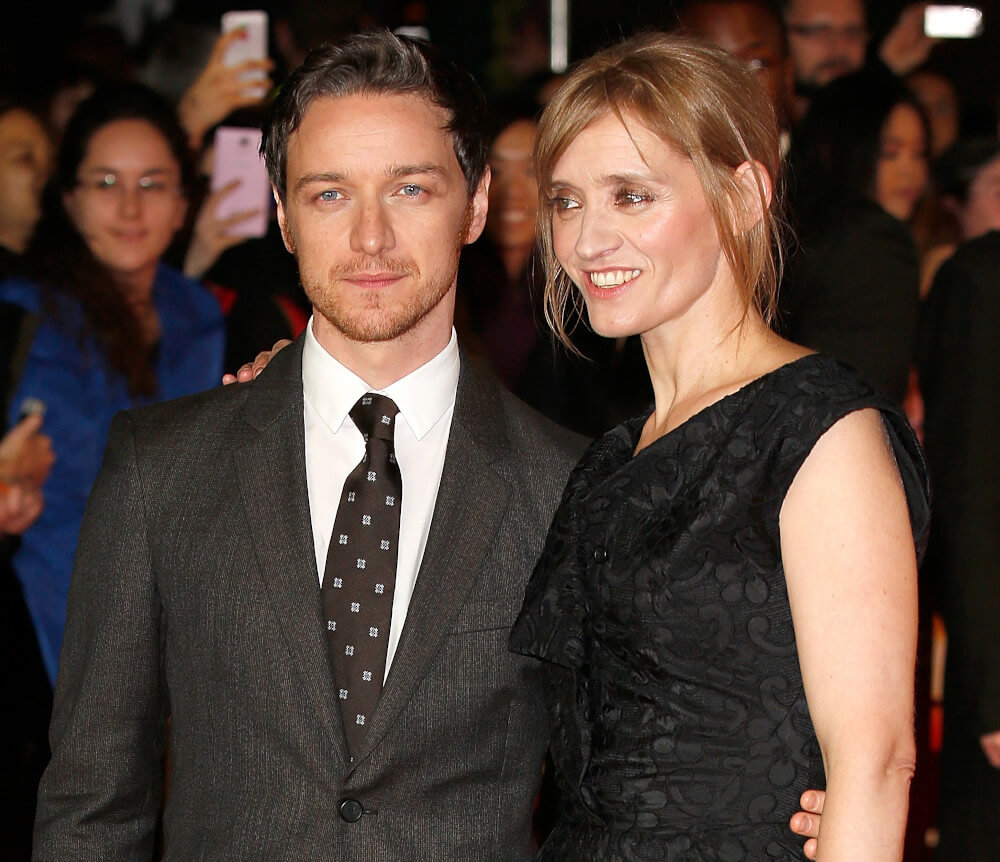 James McAvoy and ex wife Anne-Marrie Duff