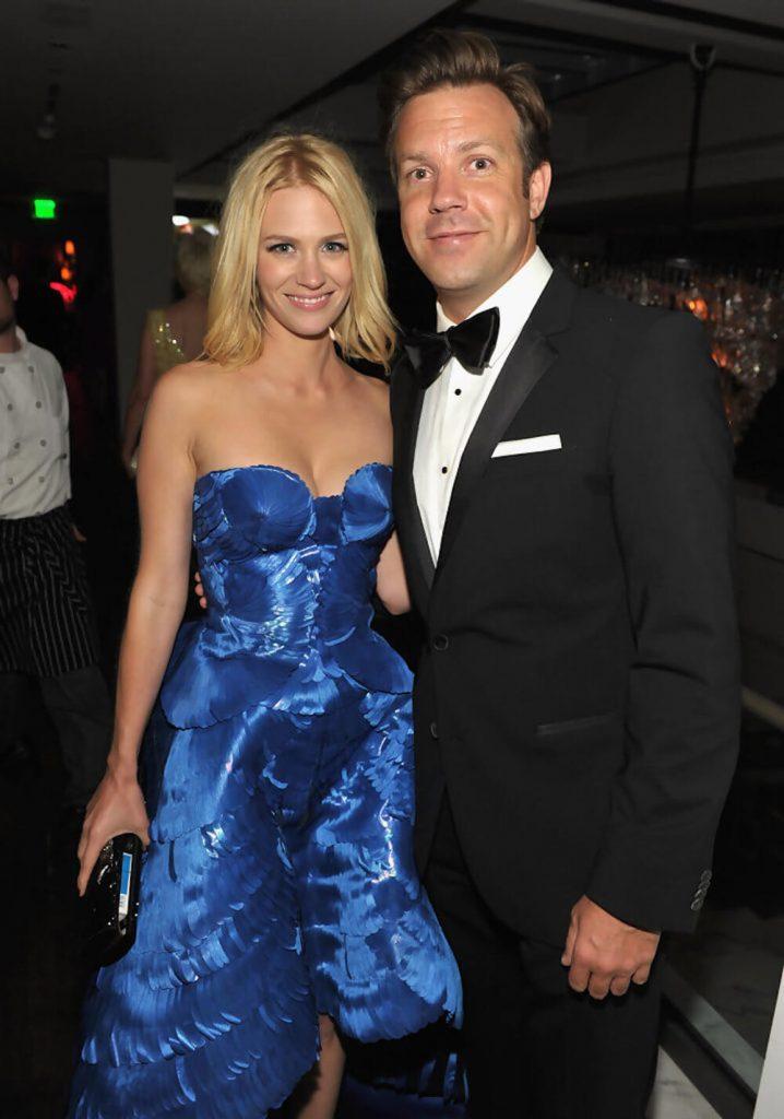 Jason Sudeikis and ex girlfriend January Jones