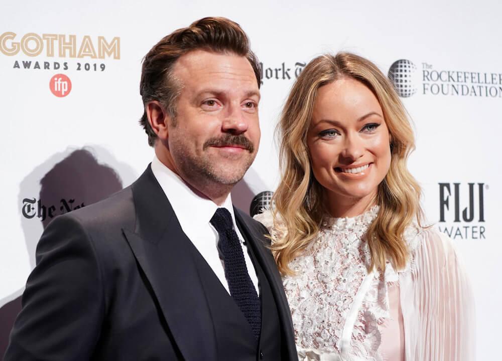Jason Sudeikis and wife Olivia Wilde