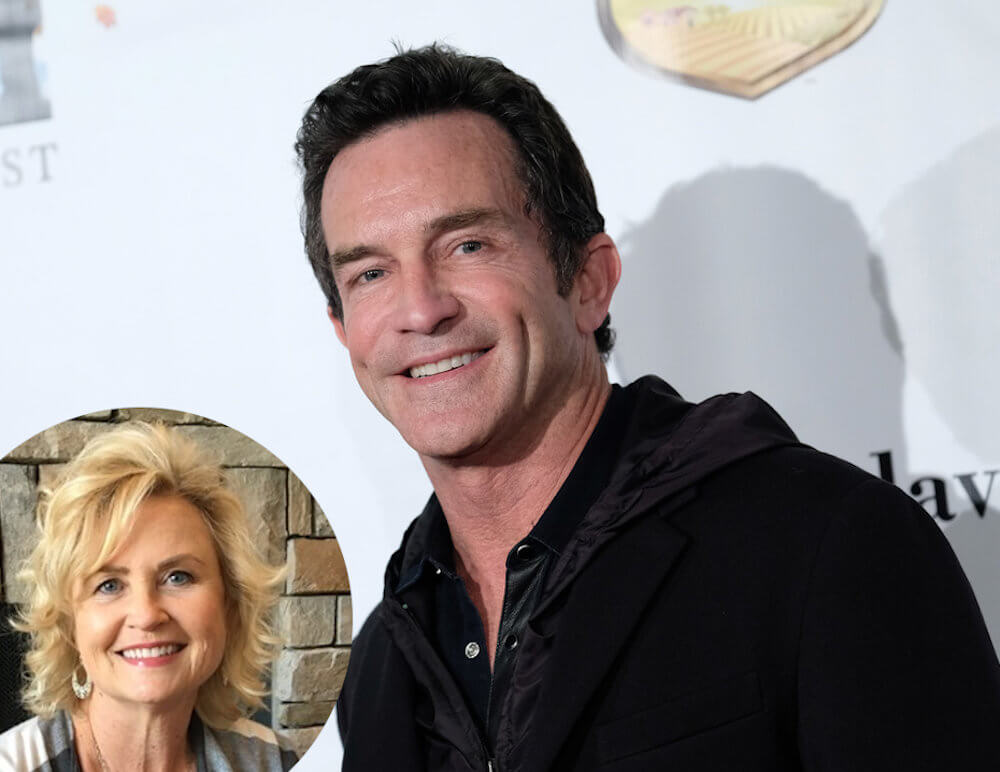 Jeff Probst and ex Shelly Wright