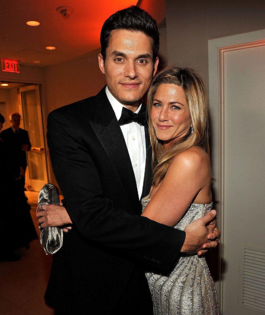 Jennifer Aniston and boyfriend John Mayer