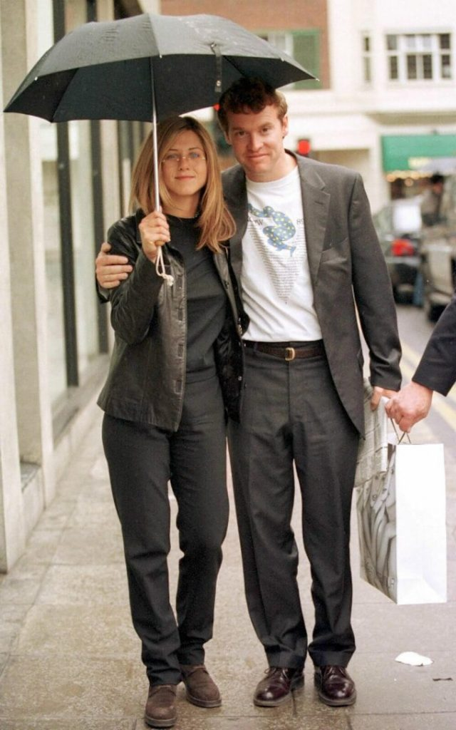 Jennifer Aniston and ex bf Tate Donovan