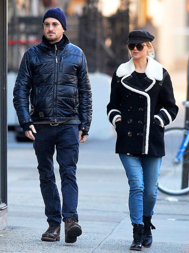 Jennifer Lawrence and ex boyfriend Darren Aronofsky