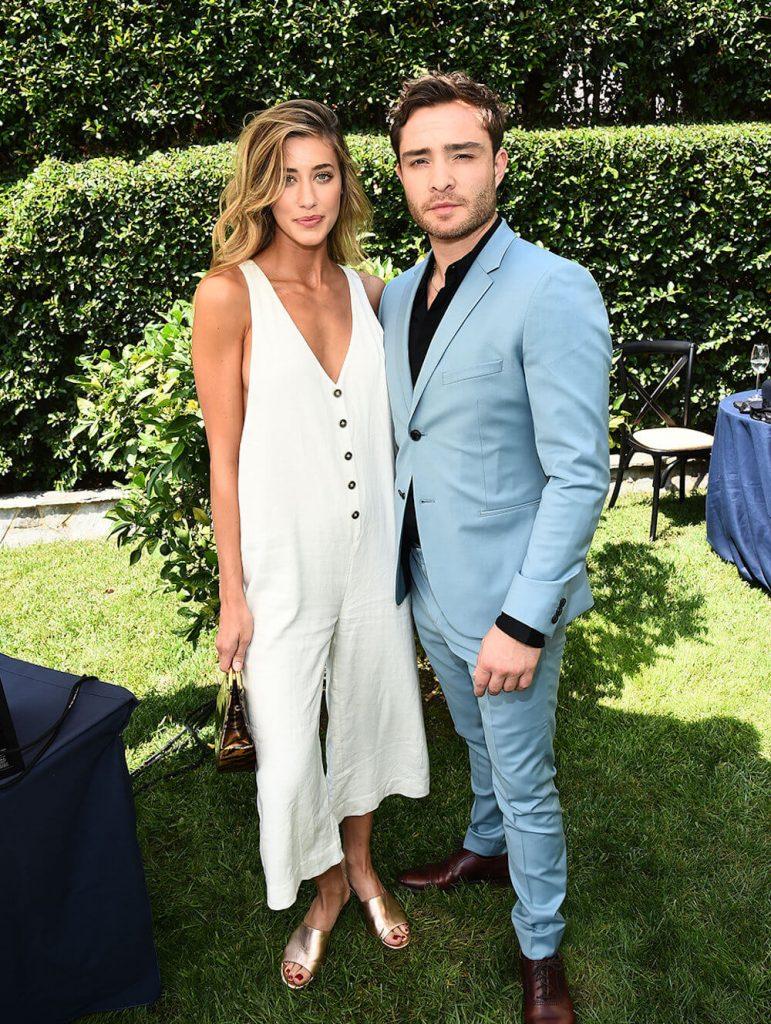 Jessica Serfaty and ex boyfriend Ed Westwick
