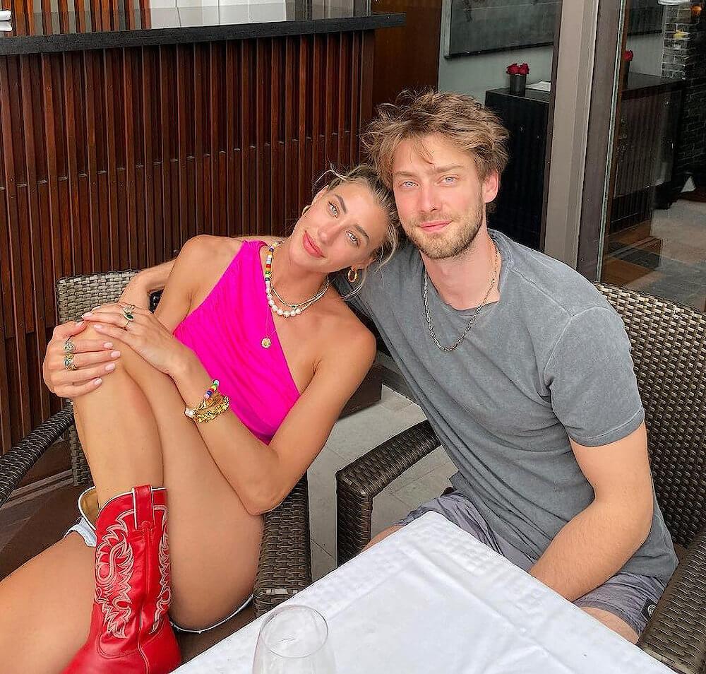 Jessica Serfaty and future husband Kaan Gunay