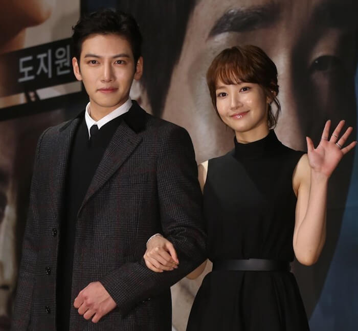 Ji Chang-Wook with his rumored girlfriend Park Min-young