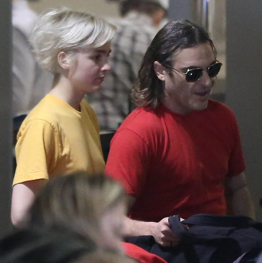 Joaquin Phoenix and ex Allie Teilz