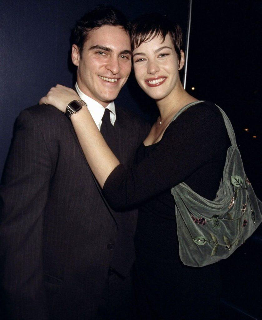 Joaquin Phoenix and ex girlfriend Liv Tyler