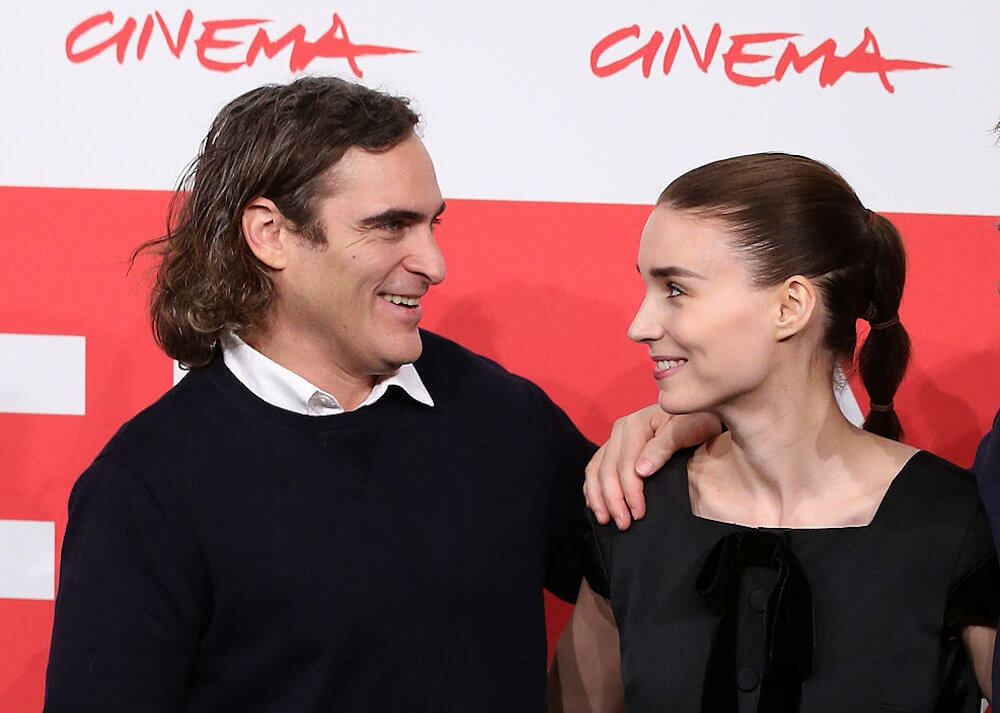 Joaquin Phoenix and wife Rooney Mara