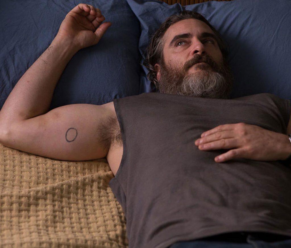 Joaquin Phoenix badly drawn circle Tattoo