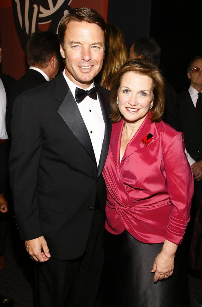 John Edwards and wife Elizabeth Edwards