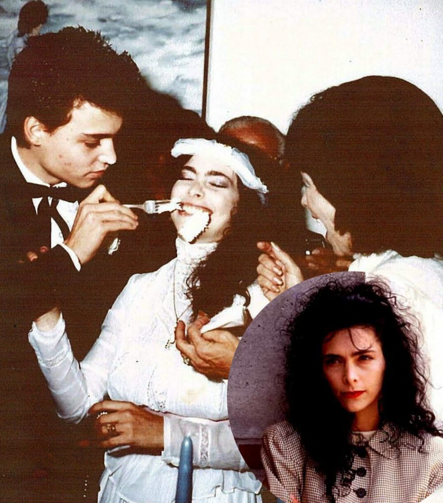 Johnny Depp and first wife Lori Allison