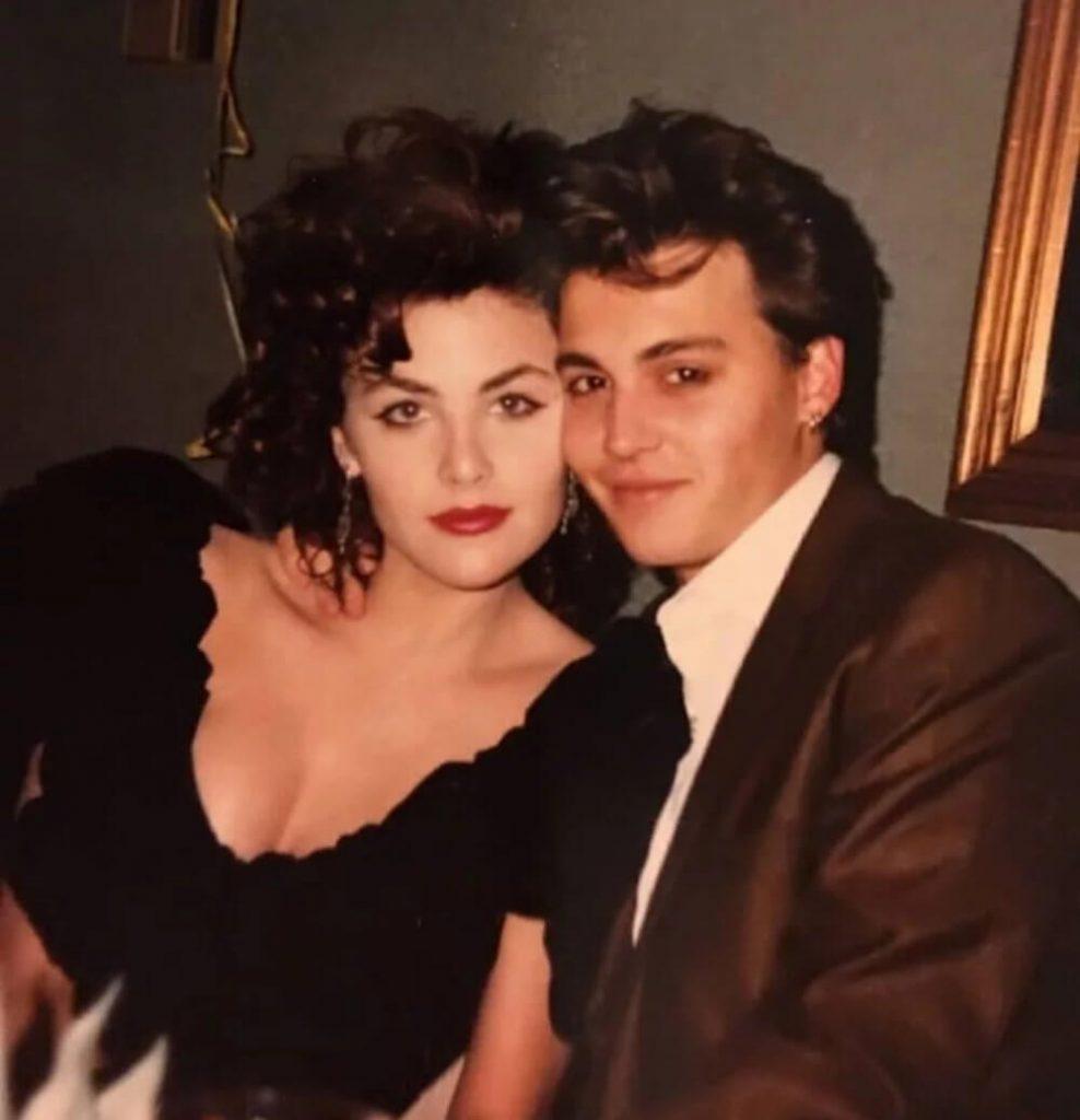 Johnny Depp and girlfriend Sherilyn Fenn