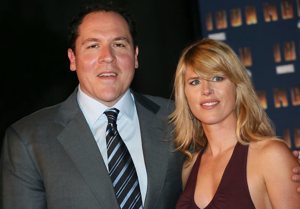 Jon Favreau and his wife Joya Tillem