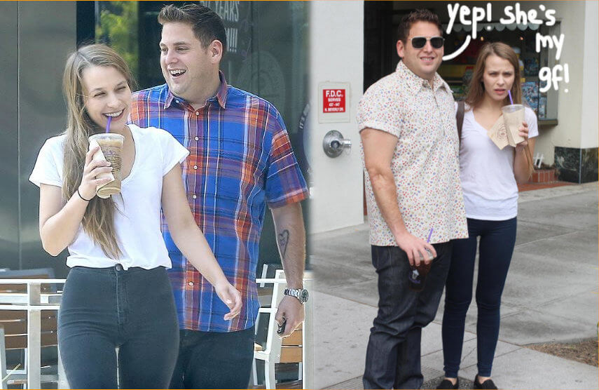Jonah Hill and Isabelle McNally