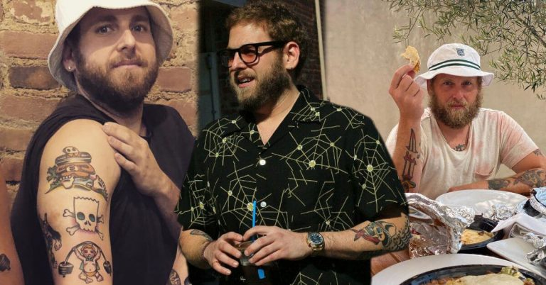 Jonah Hill tattoos and meanings