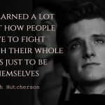 Josh Hutcherson Quotes about people